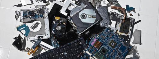 Smaltimento rifiuti di apparecchiature elettriche ed elettroniche (RAEE)