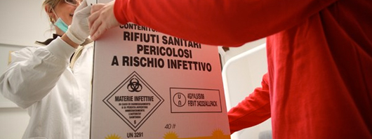 Smaltimento rifiuti sanitari